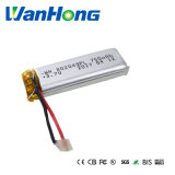 802049pl 3.7V 750mAh Batería de polímero de litio para el instrumento de limpieza