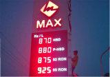Precio del gas al aire libre signo de LED (8)