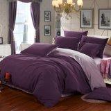 40s/200tcサテンの綿の多彩な寝具の一定のシーツはセットした(JRD677)
