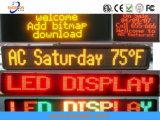 P10 de la publicité de plein air double Couleur 1r1g LED de message Signe afficheur LED du module