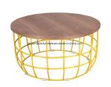 Современная домашняя мебель провод круглый кофейный столик,