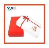 Custom небольшой элегантный белый картон подарочные коробки с крышкой