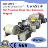 Nouvelle machine de contrecollage humide d'arrivée pour les pourboires du papier spécial
