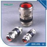 Prensaestopas industriales de protección IP68 de níquel-Latón el doble de la compresión de sellado