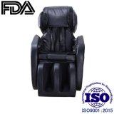 Quad de color negro de los rodillos de gravedad cero sillón de masaje de cuerpo completo