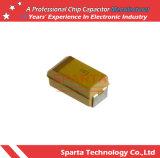 Condensatori al tantalio chip SMD 0,22 UF 35 V 1206 (3216 metrici) da 18 ohm