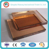 4-8mm bronce oscuro cristal tintado con Ce SGS ISO
