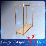 Шкаф промотирования шкафа выставки шкафа вешалки полки индикации нержавеющей стали стеллажа для выставки товаров стойки индикации (YZ161809)