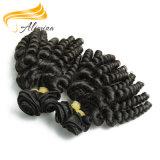 O cabelo barato do Virgin da alta qualidade empacota o cabelo de Indi Remi