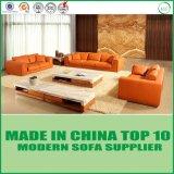 Sofá moderno do couro genuíno da mobília do sofá para a sala de visitas