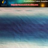 Tissu 100% polyester en peau de pêche en impression à l'ombre