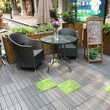 Wasserdichter blockierender hölzerner zusammengesetzter im Freienbodenbelagdecking-Plastikgroßverkauf mit preiswerter Preis-Fliese