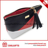 Senhora moda PU saco cosmético, PVC compõem Bag para promoção