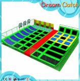 Neue Kind-runder Gymnastik-Trampoline-Innenpark für Verkauf
