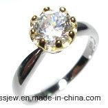 Кольцо оптовой цены 925 серебряное с камнем Mian (R10211R)