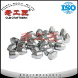 Outils à pastilles cimentés de carbure de tungstène pour l'exploitation