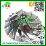 Ts16949高性能の圧縮機の車輪、アルミニウムターボチャージャーの圧縮機の車輪