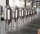 Корпус из нержавеющей стали 1 баррель -300 us баррель гликоль куртки конические Fermenter топливного бака