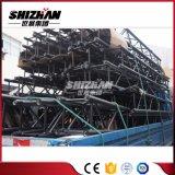 Shizhan 300*300mmの粉の黒い正方形のアルミニウム栓のトラス