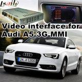 GPS van de Interface van de auto het VideoSysteem van de Navigatie voor Audi Q5 A4l A5 S5
