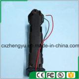 support de la batterie 8AA avec fils de fil rouges/noirs (long type)
