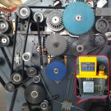 Máquina de laminado de flauta de servo control de alta velocidad