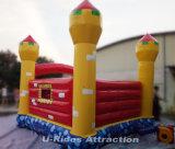 子供のための膨脹可能な城の跳ね上がりの家