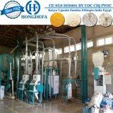 molino harinero del maíz 10t/24h instalado en Uganda