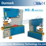 ISO de perfuração da máquina 80ton do trabalhador do ferro da calha de aço do ângulo