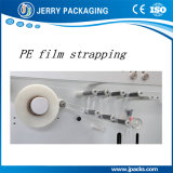 Película y cinta automáticas llenas del PE Jlj-180 que atan con correa la máquina para el rectángulo