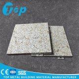 Material contínuo de alumínio de mármore de Decoartion da parede exterior do painel