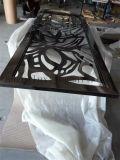 ليزر قطعة لون في [ستينلسّ ستيل] معدن شاشة لأنّ مشروع زخرفة مادّة