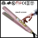 Smart Touch Screen Floating Titanium Rolling Hair Straightening Iron (V185)