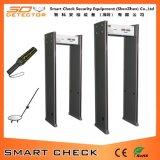 6 de Detector van het Metaal van het Frame van de Deur van de Prijs van de Detector van het Metaal van de Veiligheid van streken