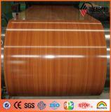 La couleur chaude de produits de vente a enduit la bobine en aluminium du constructeur de la Chine