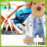 Fantasias para animais de estimação Dog and Cat Costumes Doctor Clothes
