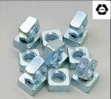 DIN985 hexagonale en acier allié d'écrous de blocage en Nylon
