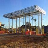 Station en acier de ravitaillement de construction en acier avec Nice le modèle