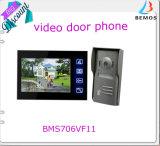 Porta elegante Bell de Doorphone do Doorbell do vídeo de cor de 4 fios para a segurança da casa