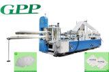 Automático na colagem e na impressão em relevo Guardanapo Máquina dobrável