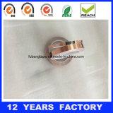 cinta de cobre adhesiva de acrílico de la hoja de 0.11m m para blindar