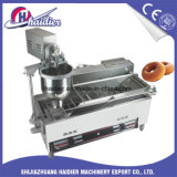 빵집 장비 자동적인 소형 도넛 기계 도넛 프라이팬 식사 기계