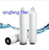 Cartucho de filtro plisado micro de nylon para la filtración del final del vino