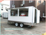 Camion dell'alimento del carrello del hot dog del comitato Re-Enforced vetro di Ys-Fb390c 3.9m da vendere