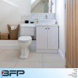 Kundenspezifische weiße Schüttel-Apparatpanel-Eitelkeit mit einzelner Wanne für kleines Badezimmer