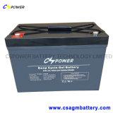 bateria solar do gel da bateria recarregável do gel de 12V 100ah para o UPS