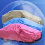 La plata impermeable de la venta caliente 2017 cubrió la tela de nylon para la cubierta del coche