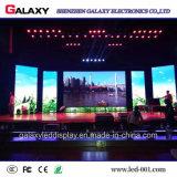 Pantalla de visualización video fija de interior de pared del LED para la demostración del acontecimiento que hace publicidad de la etapa