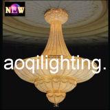 Grosse leistungsfähige goldene Chandlier Lampe (AQ7016)