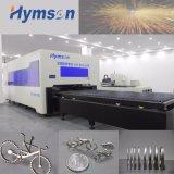 Machine de découpage de laser de fibre d'acier du carbone en métal